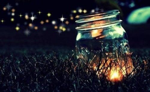 Pode-se acender uma luz com a fé