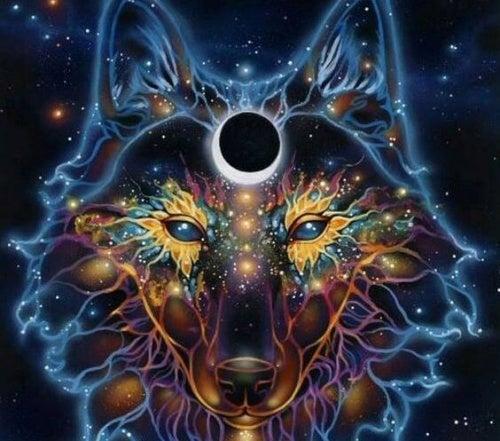 imagem de lobo