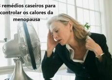 Calores da menopausa