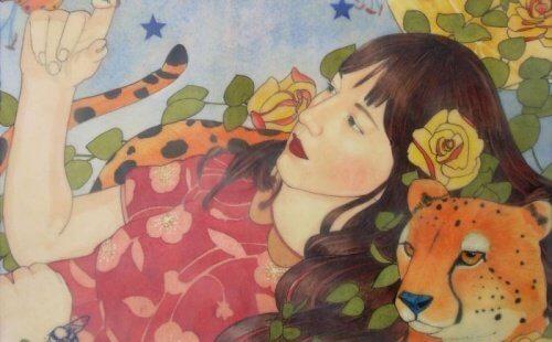 mulher-com-guepardo
