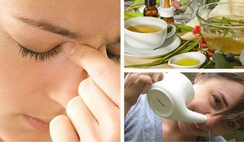3 dicas naturais para acabar com a sinusite
