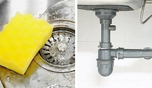Truque fácil para eliminar o mau cheiro do encanamento