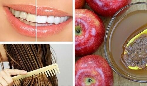 8 usos cosméticos que você pode dar ao vinagre de maçã