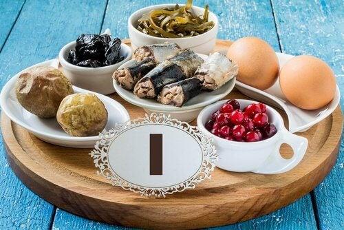 Alimentação para problemas de tireoide
