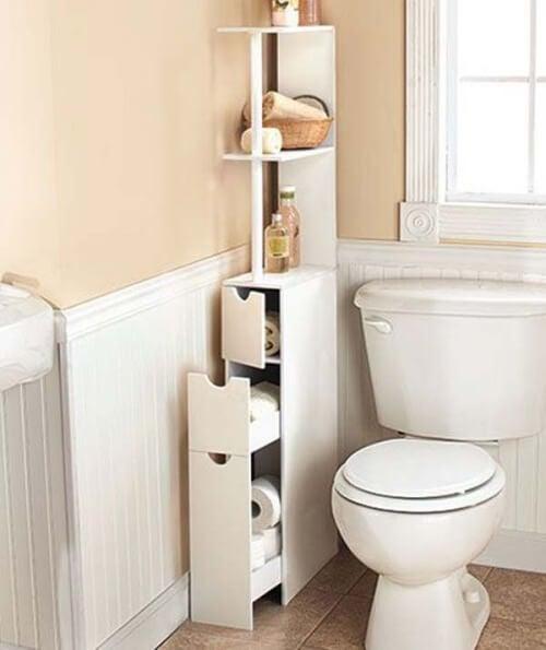 Móveis para o banheiro