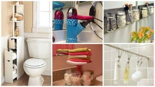 19 dicas que o ajudarão a ganhar espaço no banheiro