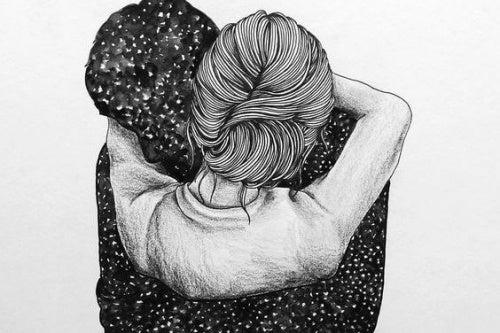 Quero um abraço que afaste meus medos