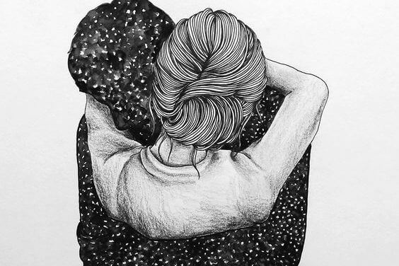 abraços apaixonados