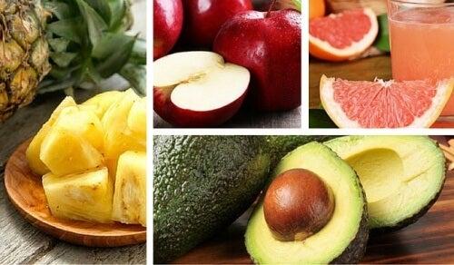 As 8 melhores frutas para o seu organismo