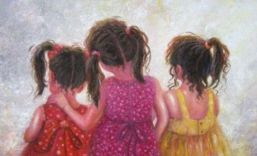 Resultado de imagem para Uma irmã é mais do que uma amiga, é a metade de nosso coração.