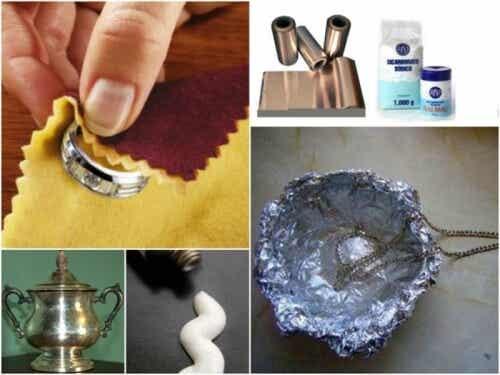 7 truques eficazes para limpar objetos de prata em casa