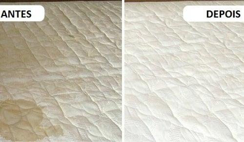 Eliminar manchas e maus odores do colchão