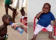 A incrível transformação de Hope, o menino nigeriano abandonado por ser considerado bruxo