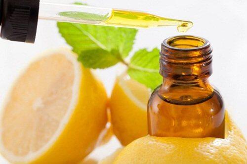 Óleo de casca de limão