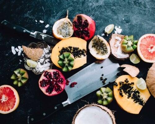 Uma fruta saudável
