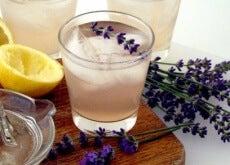 Esta limonada de lavanda vai ajudar a acalmar sua mente e acabar com as dores de cabeça