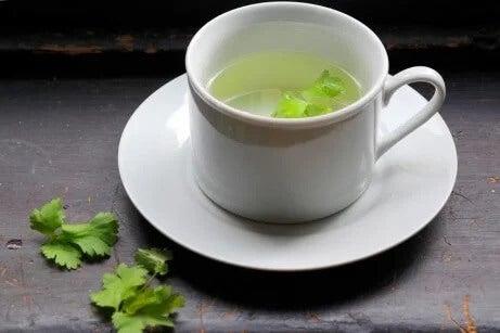 Chá contra a nefrite