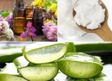 Gel natural para tratar a pele