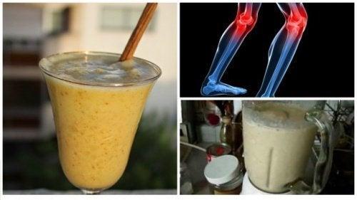 Sucos para aliviar dor da artrite reumatoide
