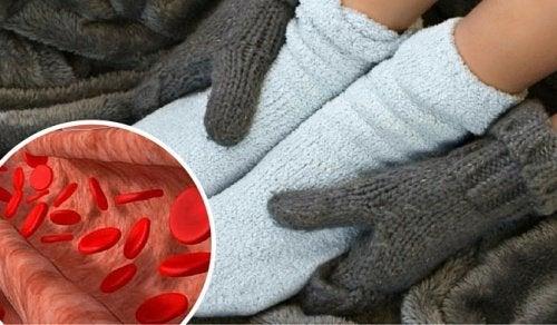 Você sente frio e inchaço nas extremidades? Controle-os com remédios para a circulação