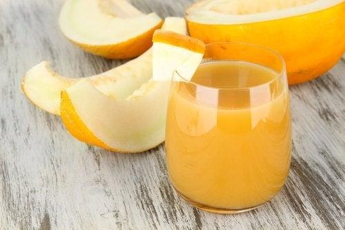 Preparar água de melão
