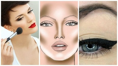 5 dicas de maquiagem para que seu rosto pareça mais fino