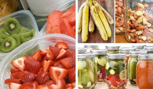 6 erros que você deve evitar para manter os alimentos em bom estado