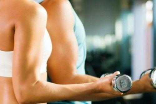 Água de pepino p-ara os músculos