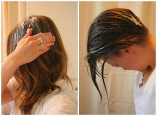 Óleo de coco para um cabelo saudável
