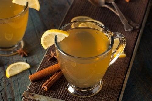 Suco com limão