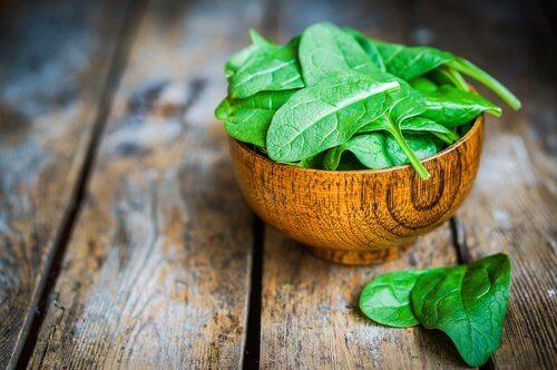 Espinafre para perder peso com saúde