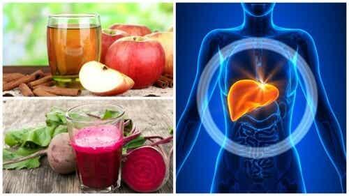 5 bebidas caseiras para desintoxicar o fígado