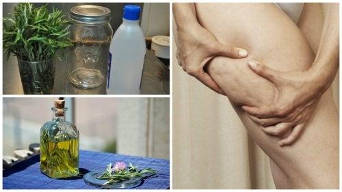 Aprenda a preparar um álcool de alecrim caseiro para combater a celulite
