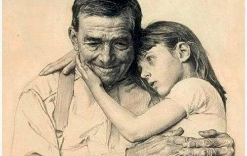 Os avós nunca morrem: dormem em nossos corações