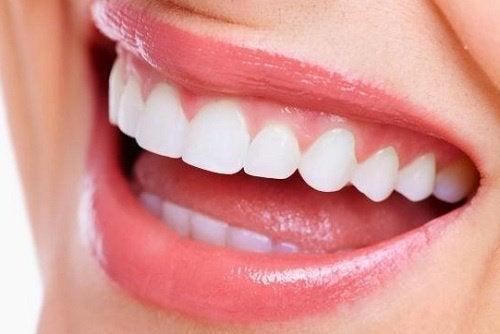 Dentes de um corpo saudável