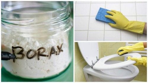 Bórax: descubra 8 formas de utilizá-lo na limpeza
