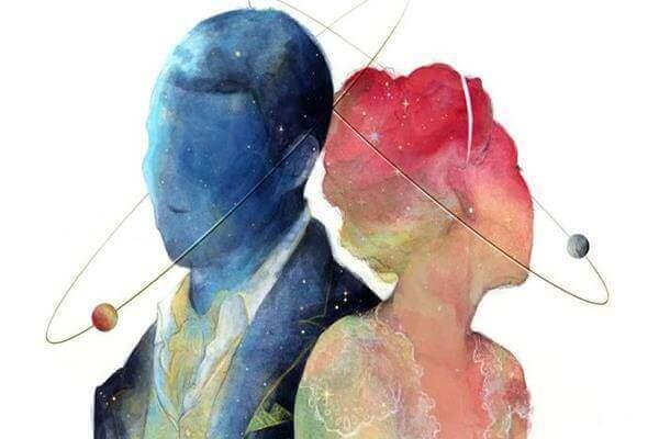 Casal de homem e mulher
