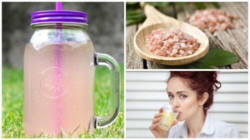 Como preparar água alcalina para perder peso, aliviar a fadiga e prevenir doenças