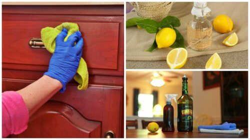 Como remover a poeira dos móveis com um produto de limpeza caseiro