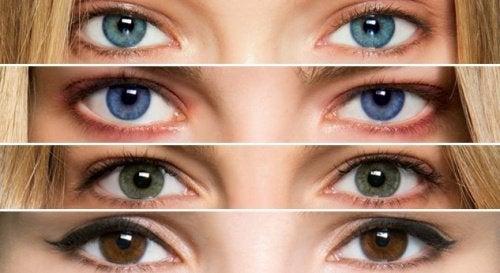 Cor dos seus olhos e seu significado