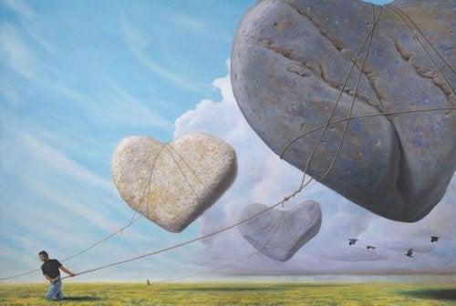 corações-de-pedra-representando-dificuldade-das-decisões