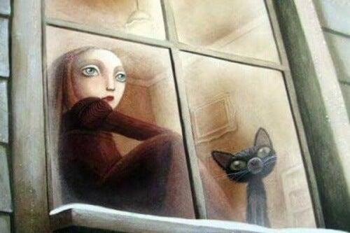 criança-com-um-gato-sentados-na-janela