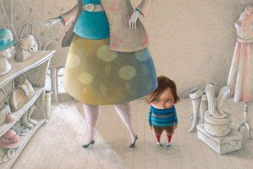 Mãe com criança