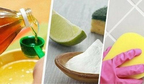 Como limpar as juntas dos azulejos com remédios naturais?