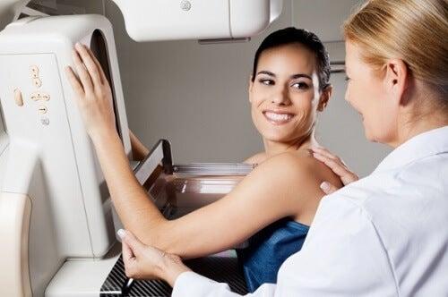 Mamografia em seio denso