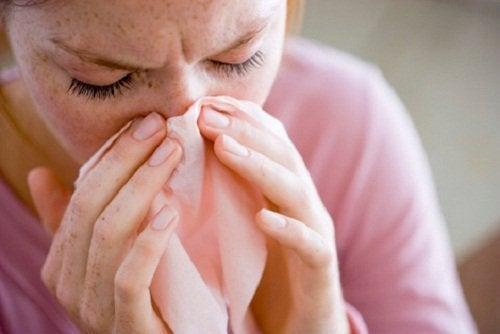 Remédios caseiros para o nariz entupido