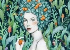 mulher-com-frutas-na-cabeça-500x312