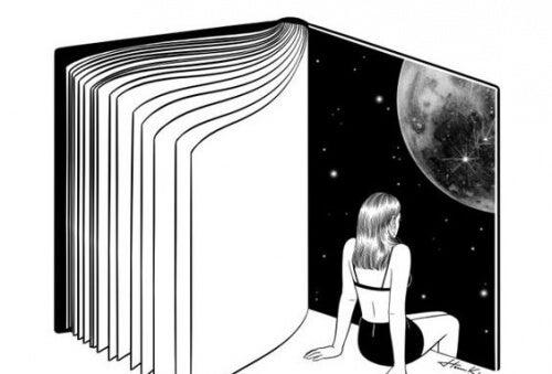 mulher-em-livro-descobrindo-sua-força-interior