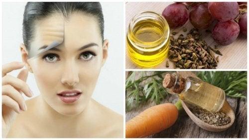 Os 8 melhores óleos para manter a pele jovem e saudável