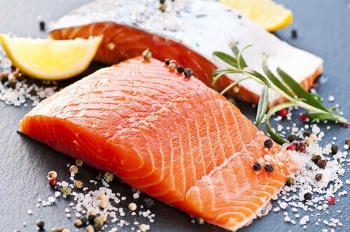 O salmão potencializa as dietas